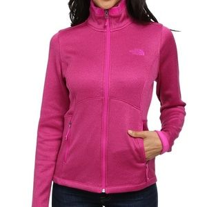 The North Face Pink Zip Up Agave Full Zip Jacket